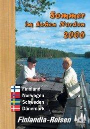 Sommer 2006 - Finlandia-Reisen