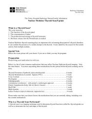 Nuclear Medicine Thyroid Scan/Uptake What is a Thyroid Scan ...