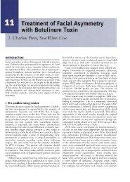 Treatment of Facial Asymmetry with Botulinum Toxin - Finn Facial ...