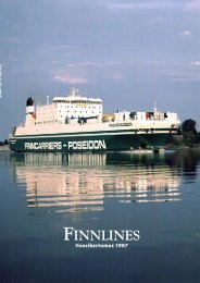 Finnlines Vuosikertomus 1997