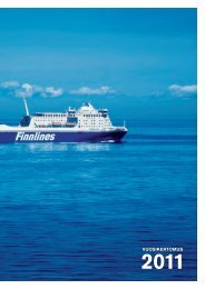 Vuosikertomus 2011 - Finnlines