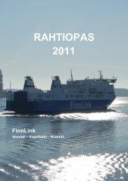 RAHTIOPAS 2011 - Finnlines