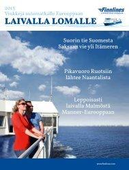 2013 Laivalla lomalle - Finnlines