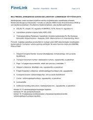 Naantali Page 1 of 3 MULTIMODAL DANGEROUS ... - Finnlines