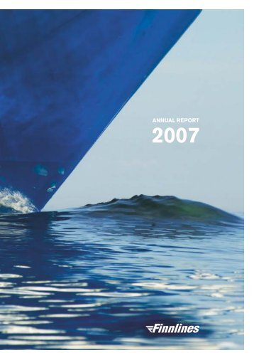 Annual Report and Financial Statements 2007 - Finnlines