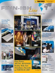 volume 17 - issue 2 - Finn-Power International, Inc.