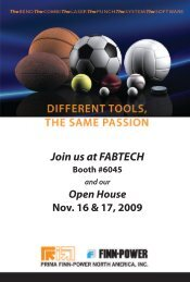 Join us at FABTECH