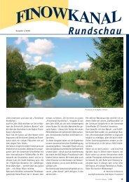 Ausgabe 1/2006 - in der Region Finowkanal