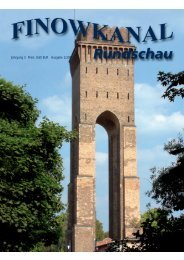Ausgabe 1/2004 - in der Region Finowkanal