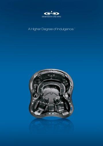 Katalog produktów Dimension One Spas