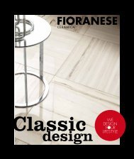 WE DESIGN YOUR LIFESTYLE - Fioranese