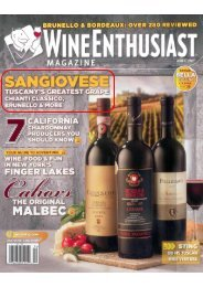 WE April COVER.psd - Fiore Wine Collection