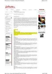 Pagina 1 di 6 Wissen sie es? Vinum, Europas Weinmagazin 06/07 ...