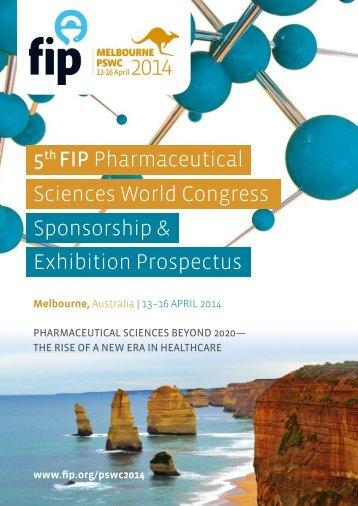 Sciences World Congress Sponsorship & Exhibition ... - FIP