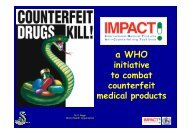 Initiative To Combat Counterfeit Medical Products - FIP