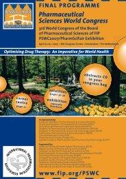 2007 Pharmaceutical Sciences World Congress - FIP