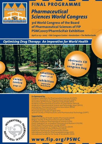 2007 Pharmaceutical Sciences World Congress - FIP