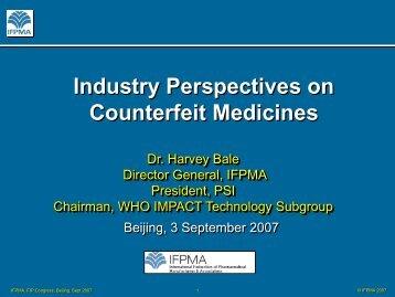 Counterfeit Medicines - FIP