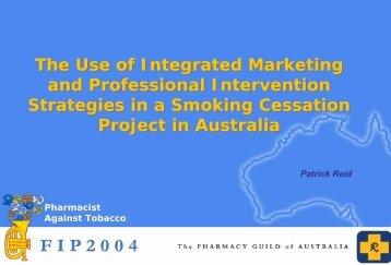 Smoking cessation project in Australia - FIP
