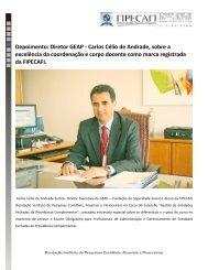 Carlos Célio de Andrade, Diretor da GEAP, concede ... - Fipecafi