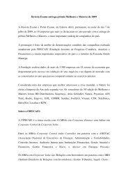 Revista Exame entrega prêmio Melhores e Maiores de 2009 - Fipecafi