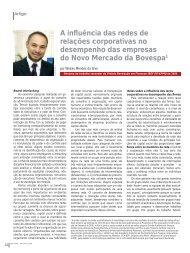 A influência das redes de relações corporativas no ... - Fipecafi