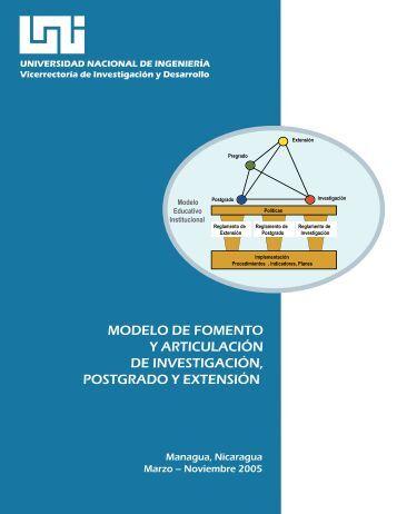Modelo de Fomento y Articulación en Investigación, Postgrado y ...