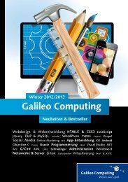 Galileo Computing - SAP PRESS