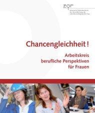 Broschüre des Arbeitskreis Berufliche Perspektiven für Frauen in ...