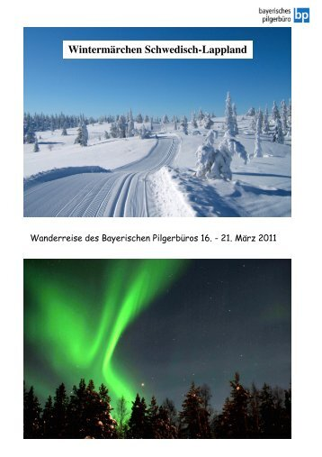 Wintermärchen Schwedisch-Lappland