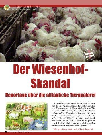 Tierschutz-Skandal - Magazin Freiheit für Tiere