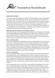 Pressemitteilung Vortrag Psychoonkologie - Freundeskreis ...