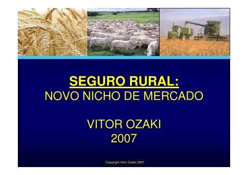 SEGURO RURAL: