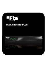 MAX S405 HD PLUS - FTE Maximal