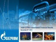 Слайд 0 - Gazprom