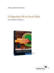 Erfolgreiche PR im Social Web (PDF) - Galileo Computing
