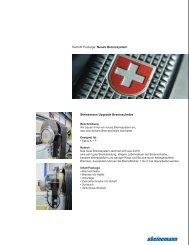 Bremssystem (pdf, 1.05mb) - Steinemann Technology AG