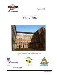 VERVIERS - Fédération du Tourisme de la Province de Liège