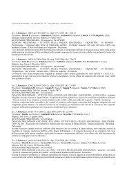 giurisprudenza in materia di sequestro probatorio - Formazione e ...