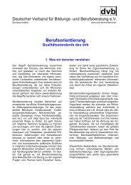 Berufsorientierung - Nationales Forum Beratung in Bildung, Beruf ...