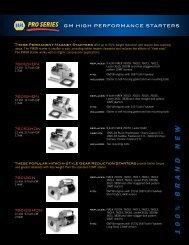 1 0 0 % b r a n dn e w - NAPA  Pro Series Starters & Alternators