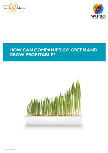 going green and economics The green economy has over the past few years became a central concept   green growth, in turn, can be characterized as the increase, in an.