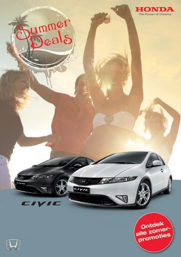 Ontdek alle zomer- promoties - Honda