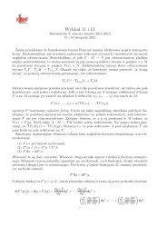 Wykład 11 i 12 - lemat Poincare, całkowanie form