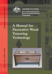 A Manual for Decorative Wood Veneering Technology - Forest and ...