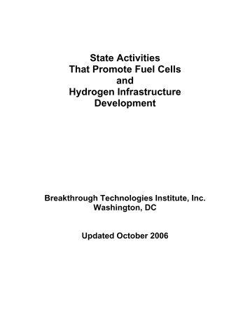Breakthrough Technologies Institute - Fuel Cells 2000