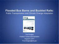 Climate Change: Emerging Policy Framework - Federal Transit ...