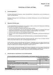 Anhang 28 - Gewerbeaufsicht - Baden-Württemberg