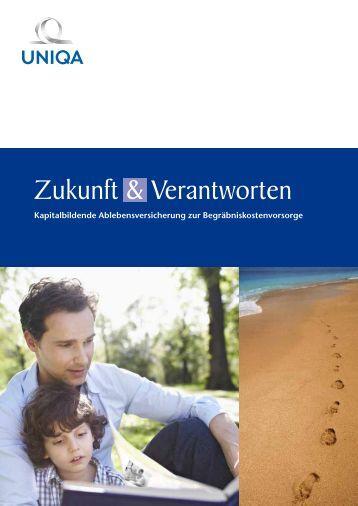 Folder Zukunft & Verantworten ... - Uniqa Versicherungen AG