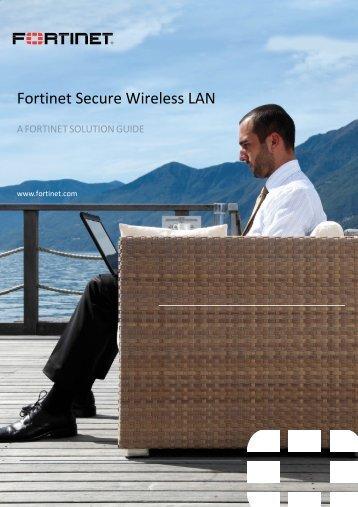 Fortinet Secure Wireless LAN